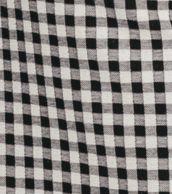 Cuadro vichy (blanco y negro)